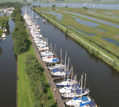 Kroonduikervaart Jachthaven De Brekken